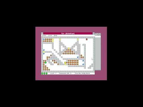 Spoonfed's Retro Adventure - Windows 3.11 and Kye and BEAST