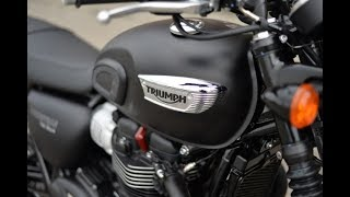 5. New 2017-2018 Triumph Bonneville T100 Next Concept (eps2)