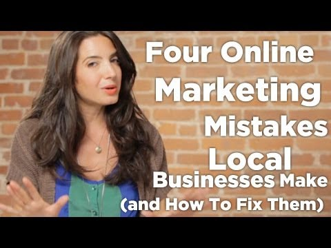 Watch 'Four Online Marketing Mistakes Local Businesses Make (and How To Fix Them) - YouTube'