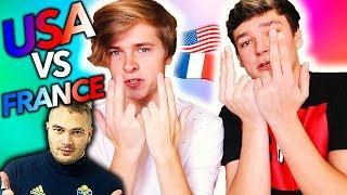 Video UN AMÉRICAIN RÉAGIT À JUL ET À LA FRANCE ft Luke Korns MP3, 3GP, MP4, WEBM, AVI, FLV September 2017