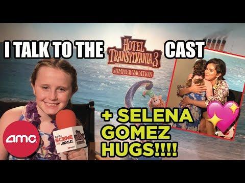 I Hugged Selena Gomez @ the Hotel Transylvania 3 Press Event!!!