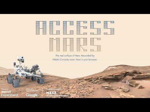 Access Mars: Helping NASA and JPL bring the surface of Mars to your browser_A héten feltöltött legjobb űrhajó videók