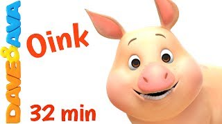 🎯 NEW! THE FARM ANIMALS PUZZLE APP – download for Android ► https://goo.gl/AZxFKj and iOS ► https://goo.gl/0tBc0aWelcome farm animals and animal sounds collection from Dave and Ava! Subscribe now for new nursery rhymes - https://www.youtube.com/DaveAndAva?sub_confirmation=1🎺 Watch our collection of non-stop nursery rhymes at https://www.youtube.com/watch?v=a3qY1d1X4cs&index=36&t=104s&list=PLURXwwh2i_mcgwdQrVMmh-txx-g1qRcZXIf you like this video, share it https://www.youtube.com/watch?v=AQQ0Mm3ulwE&feature=youtu.beDave and Ava's farm animals and animal sounds collection is perfect for kindergarten and preschool activities to keep kids busy. These songs for children have a huge impact on how they learn to concentrate or follow the guidelines. You probably know how much they love familiar nursery rhymes and always seem to take special delight in listening and singing along to their favorite songs for toddlers over and over again. Even parents may eventually find themselves humming these kids songs as well! Dave and Ava enhance your child's sense of rhythm, help to learn ABCs, phonics, introduce colors, numbers, counting and more!Go to your favorite nursery rhyme by selecting a title below:00:19     Farm Animals Train – Part 1 06:29     The Farmer in the Dell  10:25     Old MacDonald Had a Farm 13:33     Wheels on the Bus – Animal Sounds Song 17:11     Farm Animals Train – Part 221:59     This Little Piggy 24:22     Mary Had a Little Lamb26:44     Three Blind Mice29:14     Five Little Ducks  Watch more nursery rhymes from Dave and Ava:👍 Finger Family  Nursery Rhymes: Daddy Finger Song and More Children's Songs from Dave and Ava 👍https://www.youtube.com/watch?v=fTy-6Wt27ks🤣 Three Blind Mice  Nursery Rhymes Songs  Music for Kids from Dave and Ava 🤣https://www.youtube.com/watch?v=bFA15Y_VEiQ😉 The Wheels on The Bus - Part 3  Dave and Ava  Nursery Rhymes and Baby Songs 😉 https://www.youtube.com/watch?v=e2S86QvUQIY🐞 Five Little Ladybugs  Nursery Rhymes Collection and Kids Son