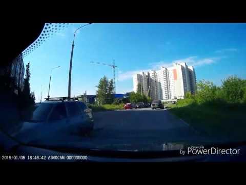 Авария в Зазерном