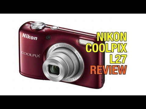 Nikon Coolpix L27 Review - with HD Video Samples