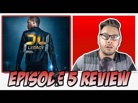 """24: Legacy Review & Reaction """"4:00 PM - 5:00 PM"""" Episode 5"""
