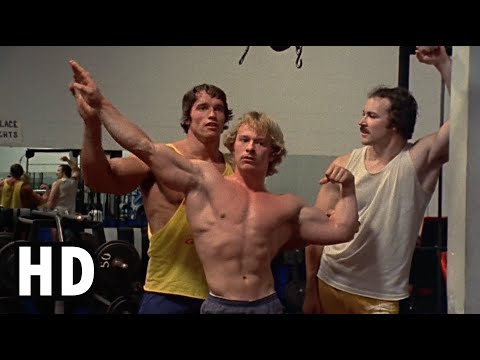 Pumping Iron (1977) - Arnold Teaches How to Pose [HD]