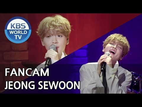 [FOCUSED] JEONG SEWOON - 20 SOMETHING [Music Bank / 2018.07.27]