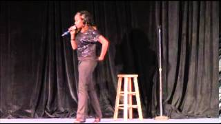 Comedian Anna Douglas From The Clean Comedy Clinic