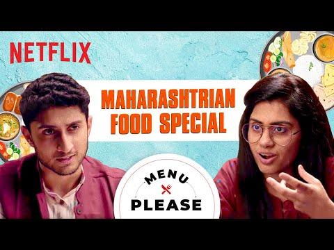 Prashasti Singh tries Maharashtrian Food | Menu Please | Netflix India