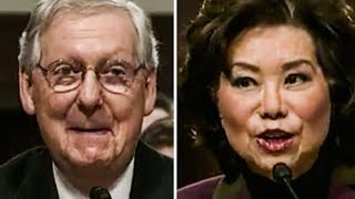 Elaine Chao BUSTED Sending $97 Million Contract To Help Mitch McConnell Win Reelection