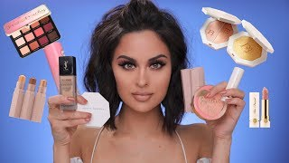 Video FULL FACE OF FIRST IMPRESSIONS | Fenty Beauty, Too Faced , YSL & More MP3, 3GP, MP4, WEBM, AVI, FLV Maret 2018