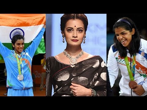 Dia Mirza Applauds Indian Rio Olympics 2016 Winner