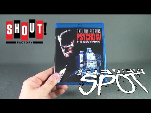 Blu Ray Spot - Shout Factory Psycho IV The Beginning On Blu Ray