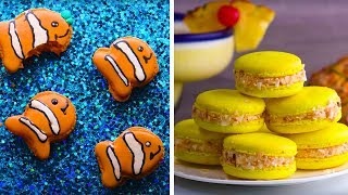 Video Animal Macaroons | How To Make Macarons | Homemade Easy Dessert Recipes By So Yummy MP3, 3GP, MP4, WEBM, AVI, FLV September 2018