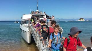 Year 6 Walk in the Abel Tasman National Park.