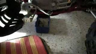 3. YAMAHA RAPTOR 250 ENGİNE OİL&OİL FİLTER CHANGE