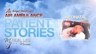 My Real Life Moment® Patient Stories - The Jessica Lucero Story Air Ambulance Transport