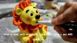 How To Make A Lion Topper Part 2