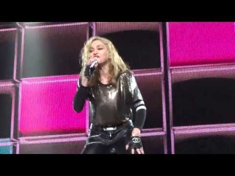 Madonna &quot;Celebration / Give It To Me&quot; Mash-up MDNA Tour 11/3/12 St Paul, MN