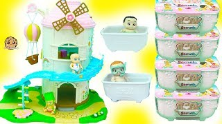 The babies are ready to play at the playhouse. Each pack comes with a bath tub with a surprise mystery baby inside. Dip them in the water and their diapers color change to see if they are boys or girls! Too cute! Enjoy this video cookie fans!!FREE Subscription Never miss a video!  Click here : http://bit.ly/1RYkDF6Watch More Cookie Swirl C  Toy Videos from Playlist:Baby Secrets Go to Doctor - Color Change Diapers + Surprise Bath Tub Babies Blind Bags https://youtu.be/-Azwu6mzL9AToilet Potty Training LOL Surprise Baby Doll + Grossery Gang Series 3 Surprise Blind Bags https://youtu.be/_S-HKWafOxMBaby Secrets Boy or Girl ? Color Changing Diapers + Surprise Bath Tub Blind Bags https://youtu.be/HU9H9c4s-KsThe Boss Baby Swims & Slides In Pool with Splashlings Mermaid Dolls + Barbie Kid https://youtu.be/lgfqgVxSsr8◕‿◕Who Is Cookieswirlc - a unique channel bursting with fun, positive, happy energy featuring popular videos on Disney Frozen, Princesses, Littlest Pet Shop LPS, Shopkins, mermaids, My Little Pony MLP, LOL Surprise baby dolls, Lego, Barbie dolls, Play Doh, and much muchy more!!! Everything form stories, series, movies, playset toy reviews, hauls, mystery surprise blind bag openings, and DIY do it yourself fun crafts!www.cookieswirlc.com◕‿◕You rock cookie fans! I'll see you in my next video! - Cookie Swirl C