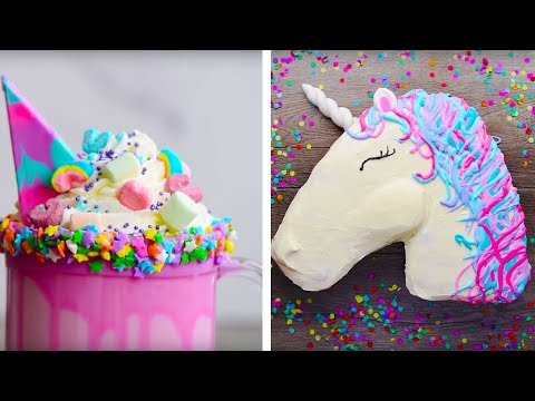 10 Amazing Unicorn Themed  Dessert Recipes | DIY Homemade Unicorn Buttercream Cupcakes by So Yummy - Thời lượng: 10:05.