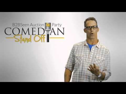 BMA B2BSeen Auction & Party: Comedian Stand Off -- Glenn Smith Invites You!