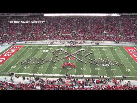 band - TBDBITL tops off a great season with a home game finale: a marching rendition of the Gettysburg Address.