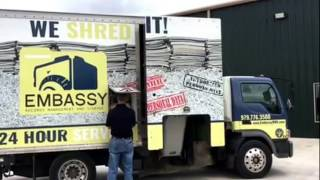 Paper Shredding Process for your home or business