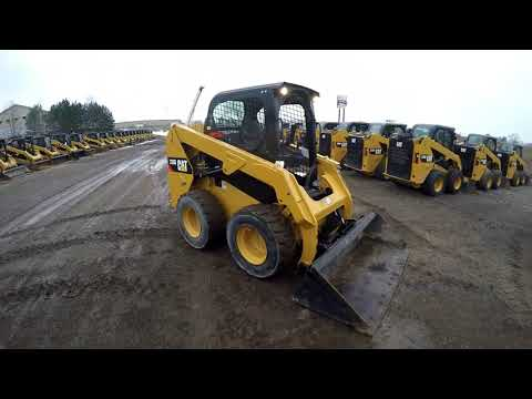 CATERPILLAR MINICARGADORAS 236D equipment video AQqdXB0DAX8