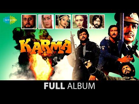 Karma | Full Album Jukebox  | Dilip Kumar |  Nutan | Jackie Shroff | Sridevi
