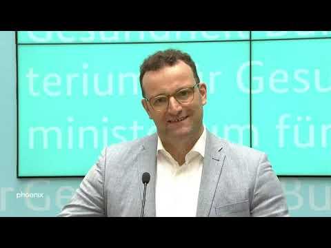 Bundesgesundheitsminister Jens Spahn stellt Arbeitsen ...