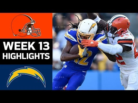 Video: Browns vs. Chargers | NFL Week 13 Game Highlights