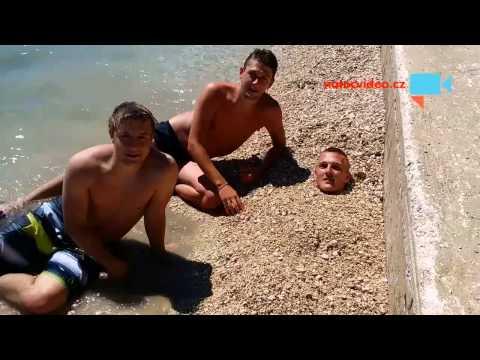 Hra s kamením v Chorvatsku