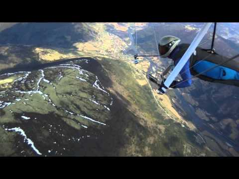 Hang Gliding At Gudbrandsdalen Norway - Frya Cup 2011