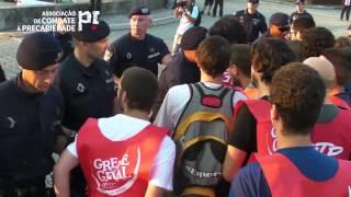 greve geral Violência Policial No Piquete Da Carris Na Musgueira :: Greve Geral 27 Junho 2013