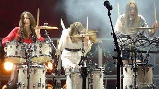 WHOLE SHOW! HAIM @ Red Rocks Amphitheatre, Morrison, CO 5/28/18 (HD Video/HQ Sound)