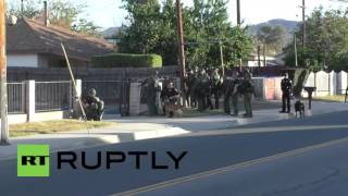 San Bernardino (CA) United States  City new picture : USA: 2 suspects killed after police shootout follows deadly San Bernardino attack