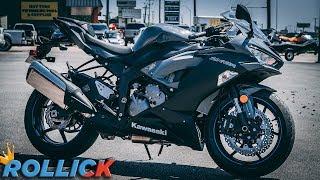 4. 2019 Kawasaki ZX-6R Test Ride Review [636]