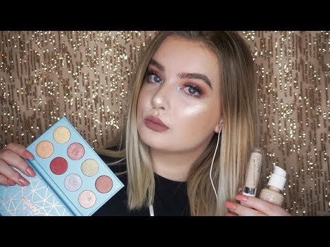 Full Face of Colourpop Makeup! (ASMR) Close Whispers