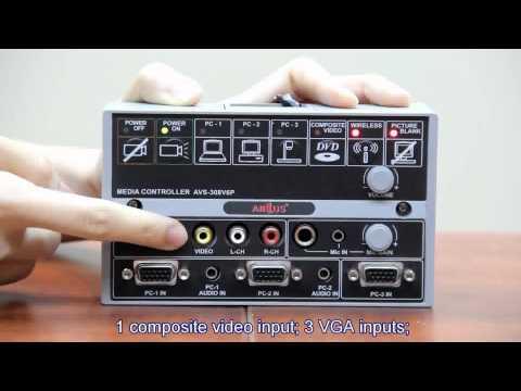Vídeo descriptivo del Sistema de Control AVS-308 (se diferencia del AVS-311 en que no tiene USB).