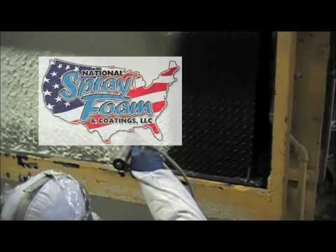 Spray Foam and Polyurea Insulate and Protect Hot Wax Tanks in Newark, NJ