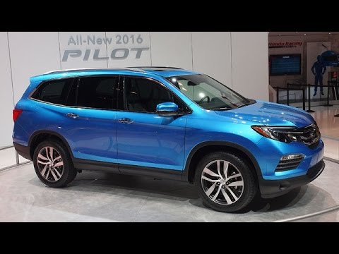 2015 Chicago Auto Show: 2016 Honda Pilot