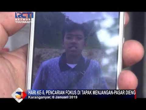 PENCARIAN HARI KE-5 PENDAKI GUNUNG LAWU YANG HILANG   06-01-2019   Seputar Inews Yogyakarta RCTI