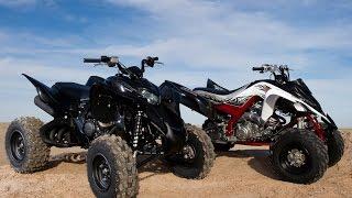 7. 2010 Yamaha Raptor 700R SE vs. Honda TRX700XX - 4WheelDirt