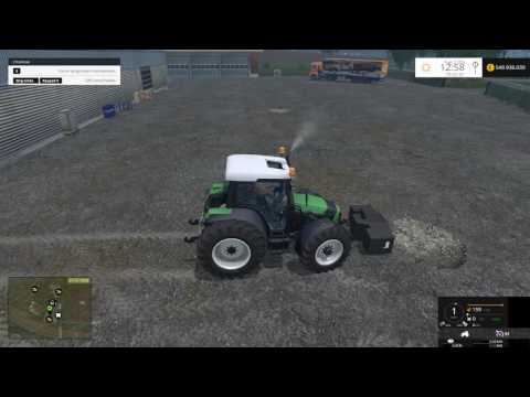 Deutz Fahr Agrofarm 430 with FL v1.5