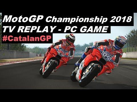 MotoGP 2018 | 7# | #CatalanGP  | TV REPLAY 50% | PC GAME MOD 2018