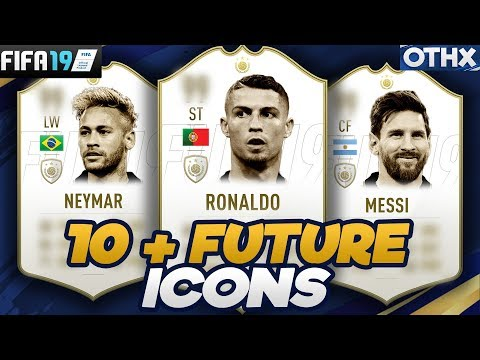 FIFA 19 | 10+ Current Football Players who will Become ICONS ft. Ronaldo, Messi, Neymar| @Onnethox