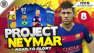 TOTY PROJECT NEYMAR! - HOW THE...!?!? - #8 - FIFA 16 Road to Glory, neymar, neymar Barcelona,  Barcelona, chung ket cup c1, Barcelona juventus