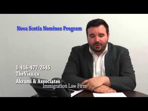 Nova Scotia Nominee Program NSNP Video